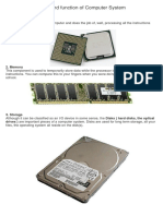 Parts of PC