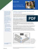 Windows MultiPoint Server 2012 Datasheet