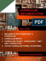 Curriculum Implementation