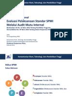 4 Kebijakan Nasional Evaluasi Pelaksanaan Standar SPMI 2016