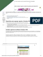 Agregar Servidor o Sistema o Agente a Servidor de Monitorización Pandora FMS Proyecto AjpdSoft
