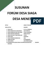Forum Desa Menes