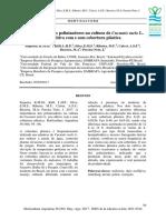 A Importância Dos Polinizadores Na Cultura de -Em-Cucumis Melo --Em- L. Em Cultivo Com e Sem Cobertura Plástica