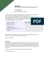 File C++
