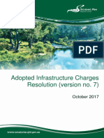 Adopted Infrastructure Charges Resolution (Version 7) October 2017