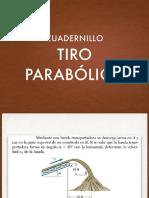 Cuadernillo Tiro Parabólico