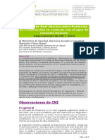 ALEGACIONES CNI- Proyecto RDproductos Contacto Con Agua Consumo Humano- Con Carta Fontanería