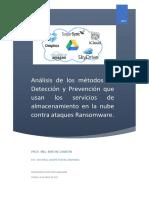 Metodos de Deteccion de malaware en plataformas de la nube