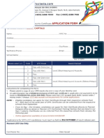 2016 SPMDC Application Form