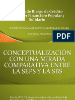 Análisis de Riesgo de Crédito Del Sector Financiero