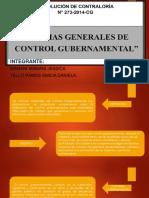 Normas Generales de Control Gubernamental