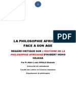 Abbé Mbabula - La philosofie africaine face a son age.pdf