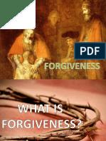Talk on Forgiveness