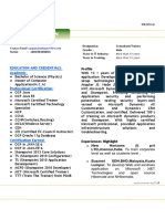 Trainer Profile - Gopalakrishnan 2