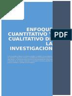 Enfoque Cualitativo y Cuantitativo de a Investigacion Cientifica
