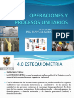 Operaciones y Procesos Unitarios 4