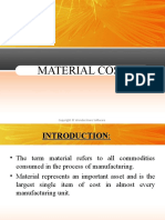 Material Cost Final 97 Slides