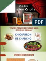 Exposicion Chicharron de Chancho