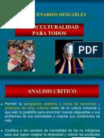 Educacion Intercultural Escenarios Deseables