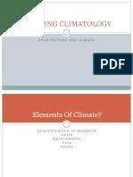 Building Climatology Modul 2