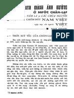 Cuộc Tranh Giành Ảnh Hưởng ở Chân Lạp Giữa Xiêm La Và Các Chúa Nguyễn - Phan Khoang - Tập San Sử Địa 14-15 (1969)