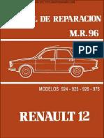 Manual de Taller Renault 12