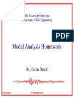 Modal Analysis Homework