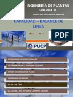 Ingeniería de Plantas 04 -Balance Linea PMARIN