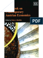 Handbook on Contemporary Austrian Economics