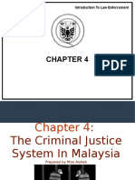 Chapter 4 Criminal Justice System in Malaysia