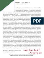 2015 Fathers Love Letter Scripture Version