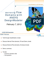 Flow Domains Ansys Dm Caea 0