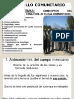 Conceptos d Desarrollo Rural Comunitario i (2)