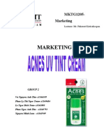 Marketing Plan Group 2 Acnes1