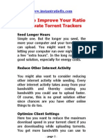How To Improve Your Torrent Ratio - instantratiofix com