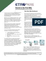 Ethernet First Mile Overview v3