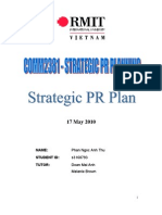 Stategic PR Plan