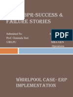 RENUKA-ERP & BPR Success & Failure Stories