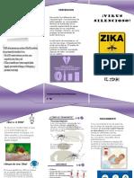 Triptico Zika