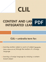 Content and Language Integrated Learning (1)