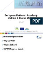 EUPATI - Status Update Sept 2016 5.0
