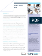 Corporate Governance and SMEs CG_SMEs_Fact_Sheet IFC