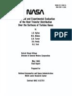 NASA - HTC Distribution Over Vane Profiles