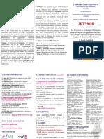 Plaquette Jet 2018 Marrakech 26-10-2017