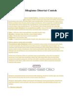 Pembahasan Silogisme Disertai Contoh Kalimat