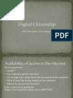 Digital Citizenship Powerpoint