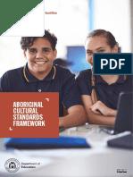aboriginal cultural standards framework