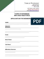 Anti-Bias Task Force Membership Application