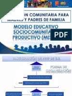 FORMACIÓN COMUNITARIA PARA MADRES Y PADRES DE FAMILIA