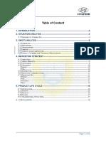 6085700 Marketing Plan for Hyundai PA